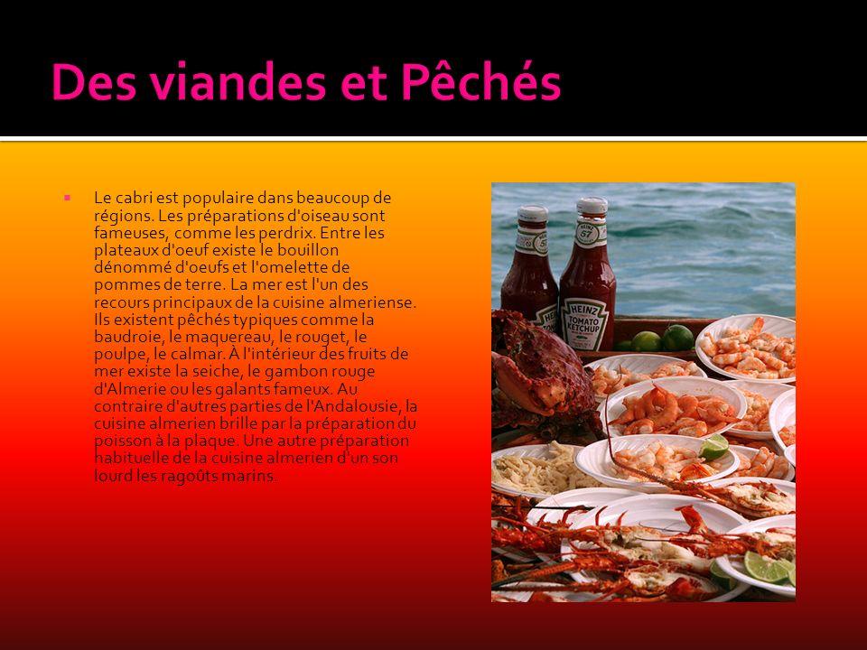 Des viandes et Pêchés