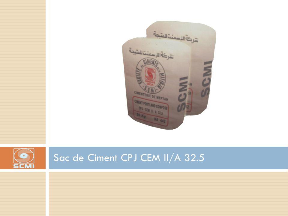 Sac de Ciment CPJ CEM ll/A 32.5