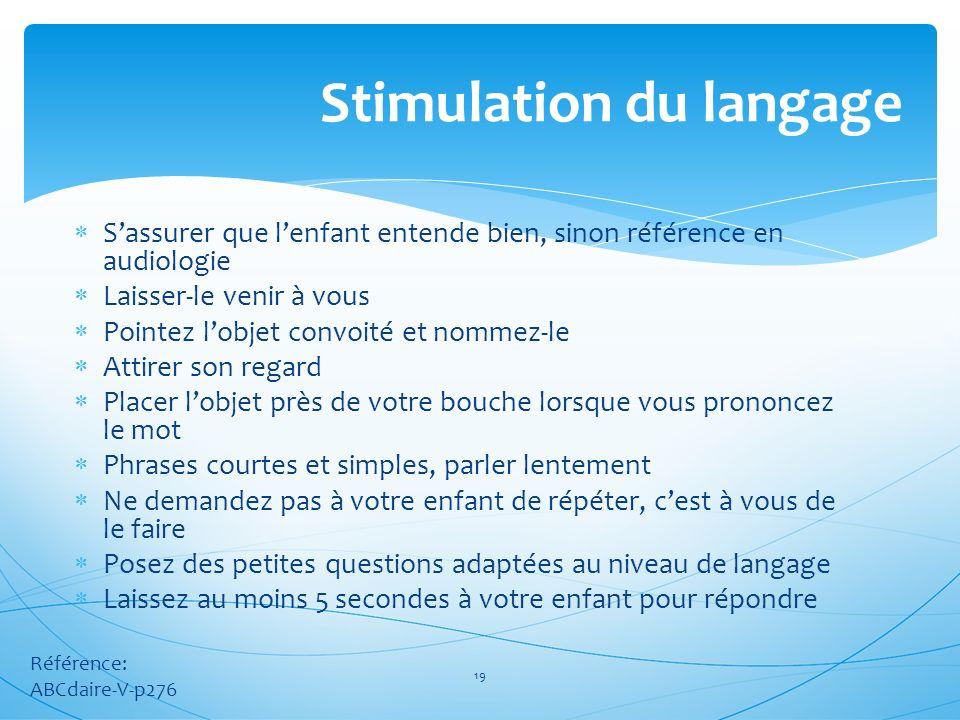 Stimulation du langage
