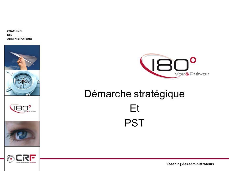 Démarche stratégique Et PST