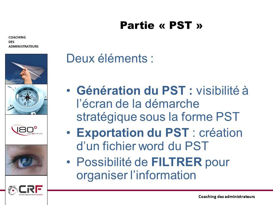 Exportation du PST : création d'un fichier word du PST