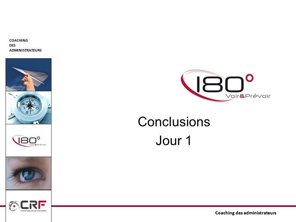 Conclusions Jour 1