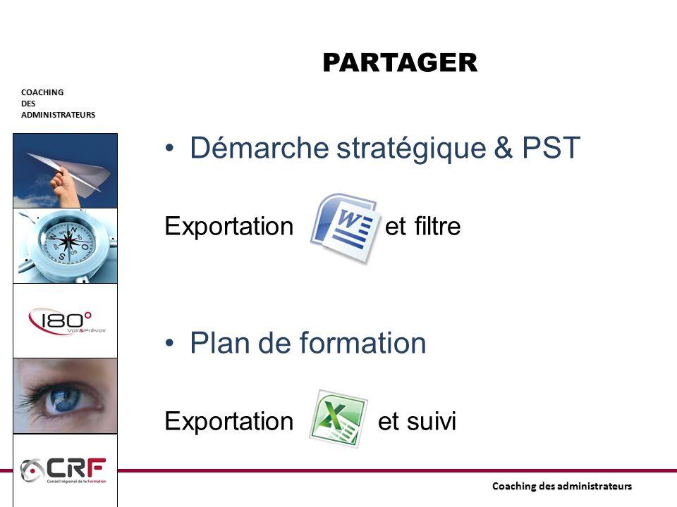 Démarche stratégique & PST