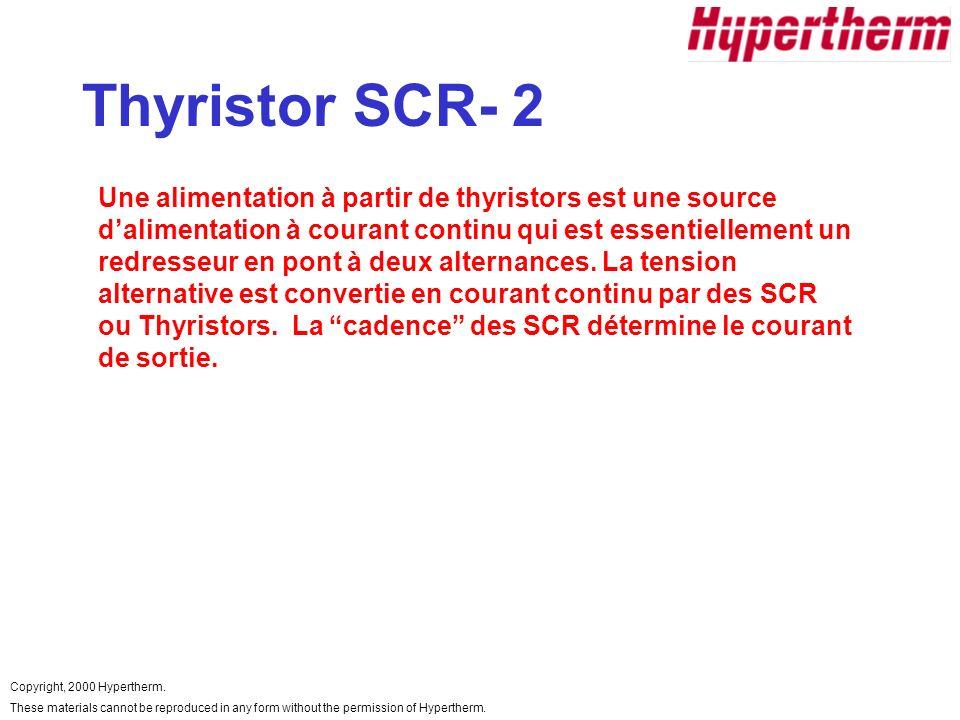 Thyristor SCR- 2