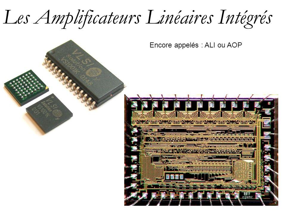 Les Amplificateurs Linéaires Intégrés