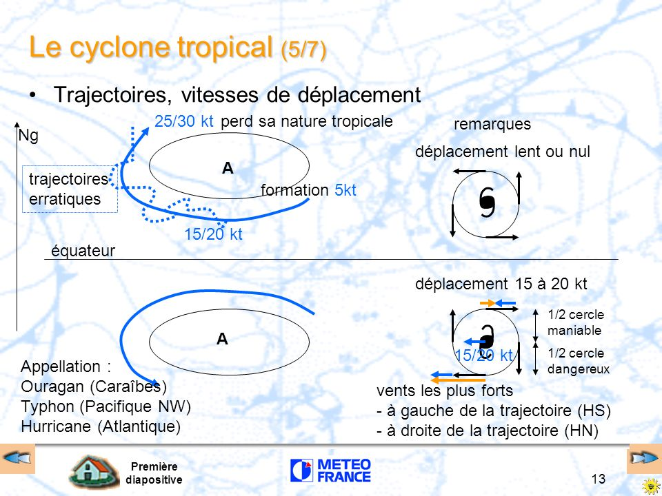 Le cyclone tropical (5/7)