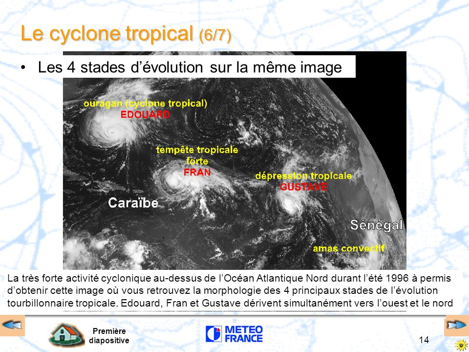 Le cyclone tropical (6/7)