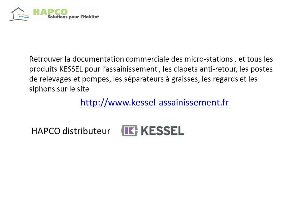 Retrouver la documentation commerciale des micro-stations , et tous les produits KESSEL pour l'assainissement , les clapets anti-retour, les postes de relevages et pompes, les séparateurs à graisses, les regards et les siphons sur le site