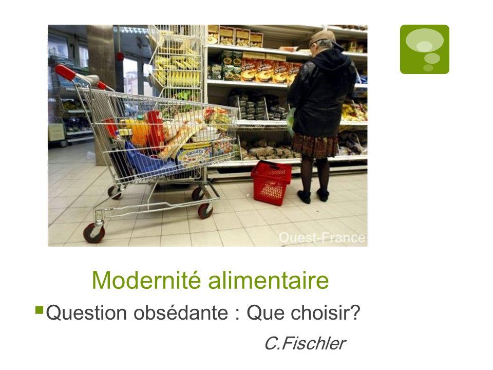 Modernité alimentaire