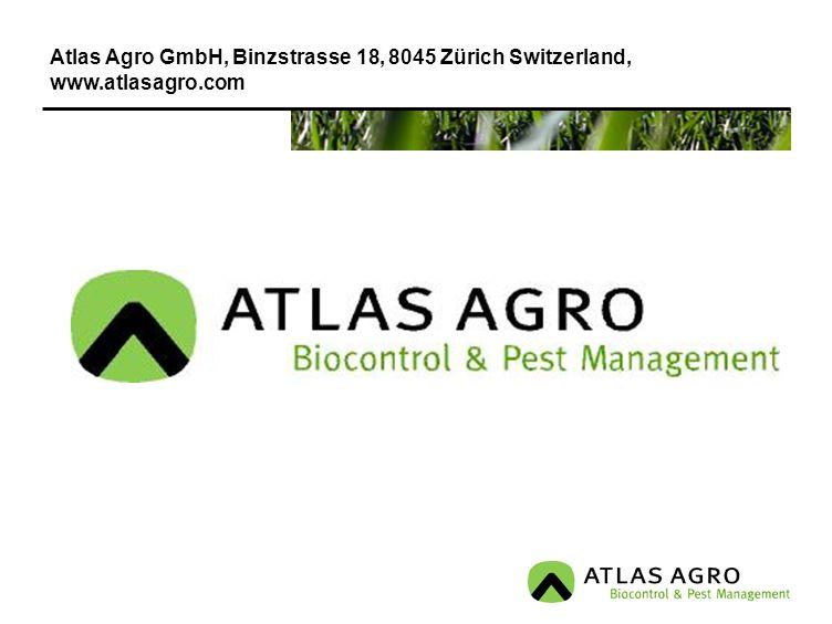 Atlas Agro GmbH, Binzstrasse 18, 8045 Zürich Switzerland,