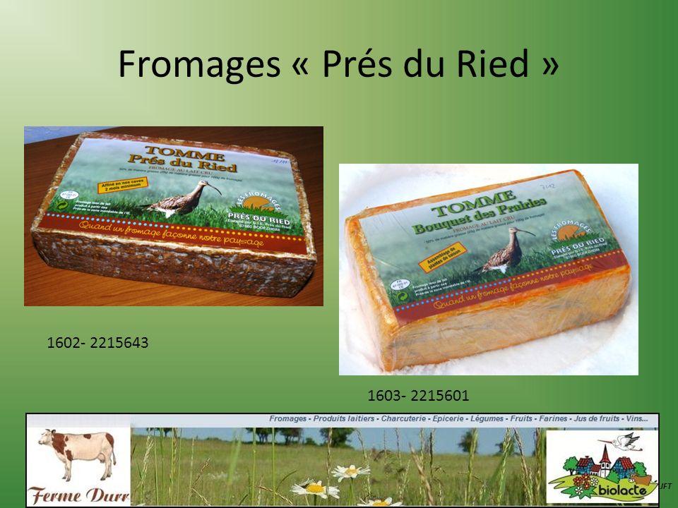 Fromages « Prés du Ried »