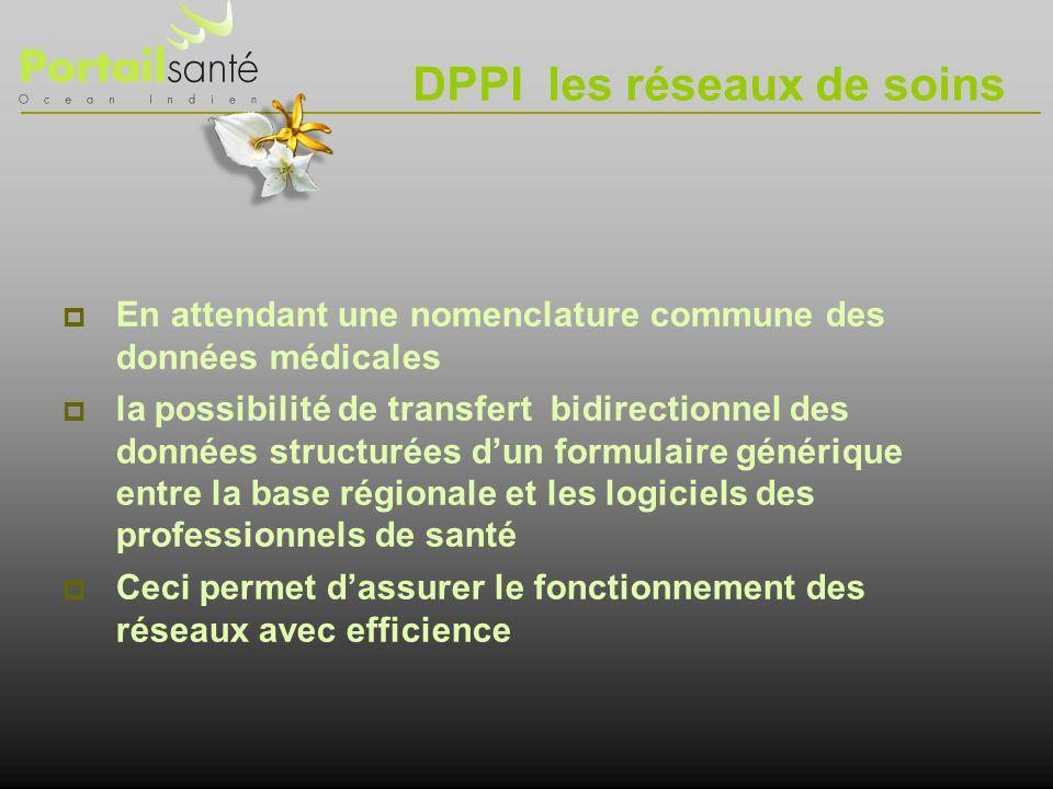 DPPI les réseaux de soins