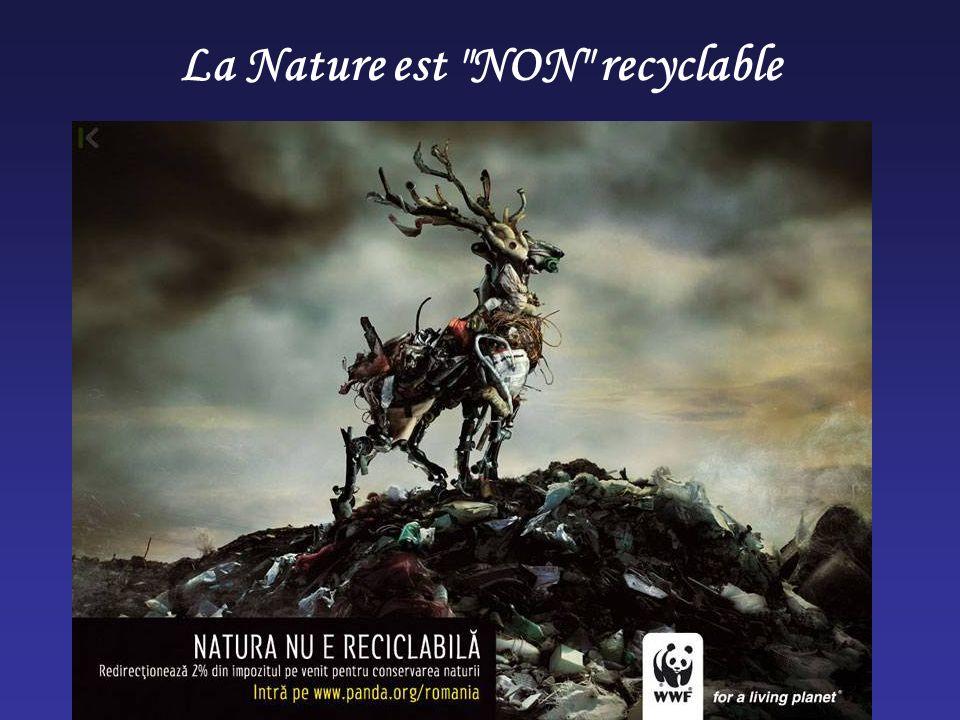 La Nature est NON recyclable