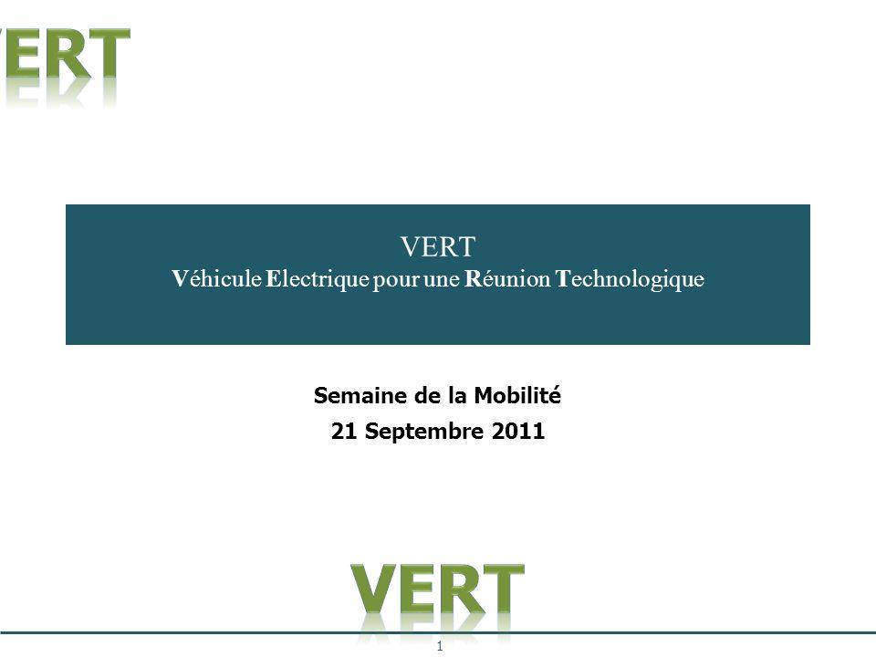 VERT Véhicule Electrique pour une Réunion Technologique
