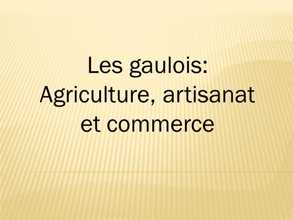 Agriculture, artisanat et commerce