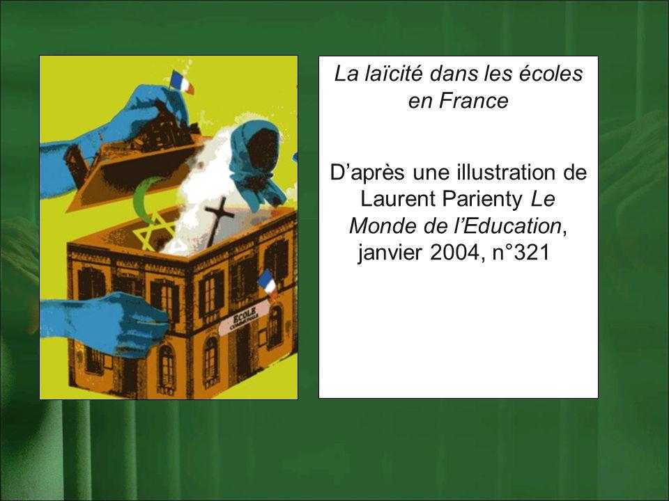 La laïcité dans les écoles en France