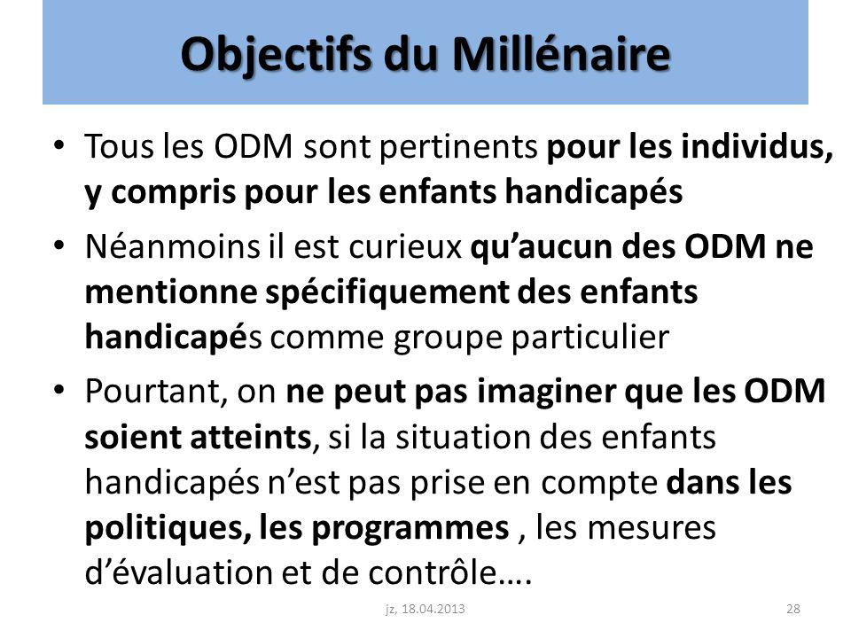 Objectifs du Millénaire