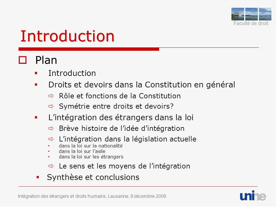 Introduction Plan Introduction