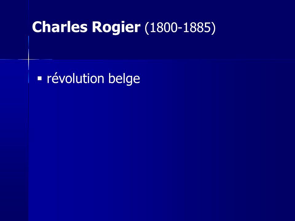 Charles Rogier (1800-1885) révolution belge 43