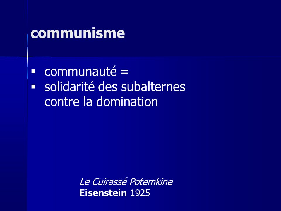 communisme communauté =