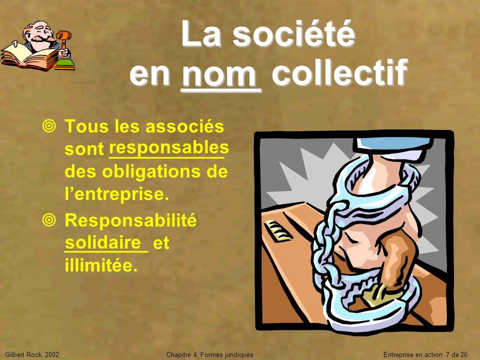 La société en ____ collectif