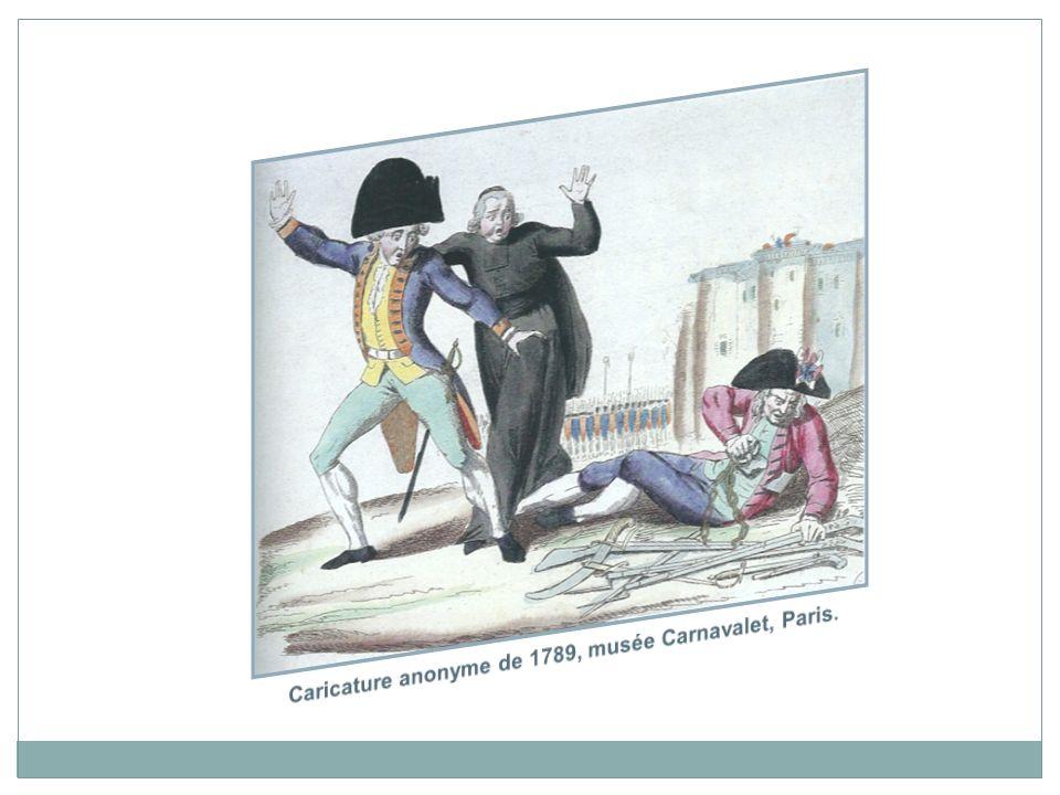 Caricature anonyme de 1789, musée Carnavalet, Paris.