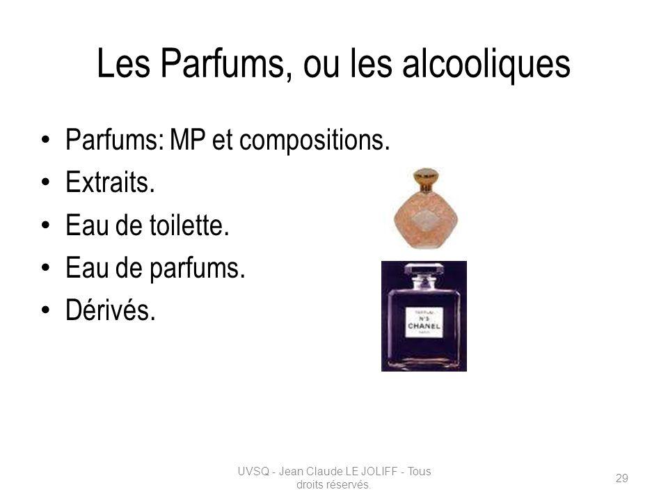 Les Parfums, ou les alcooliques