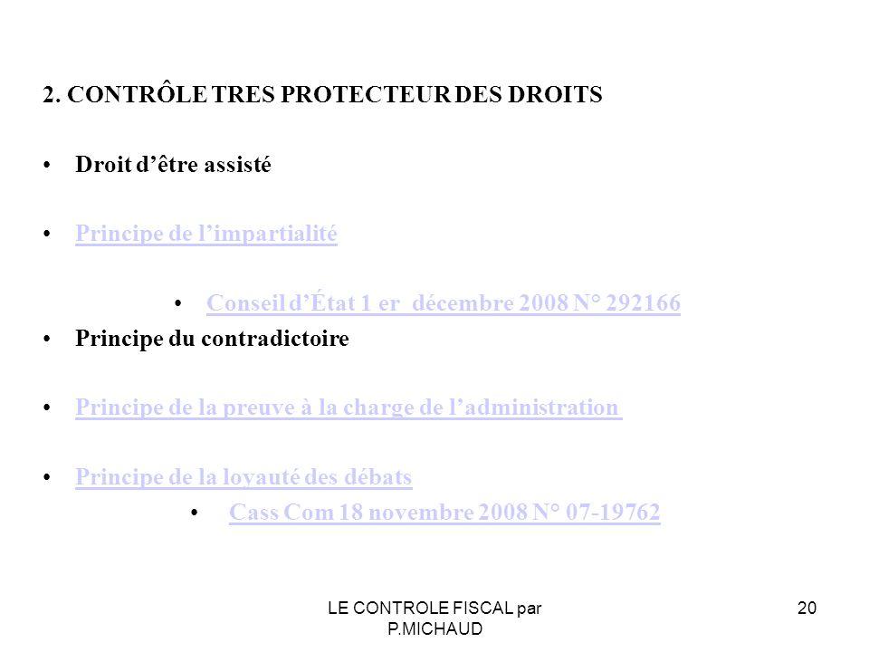 Conseil d'État 1 er décembre 2008 N° 292166
