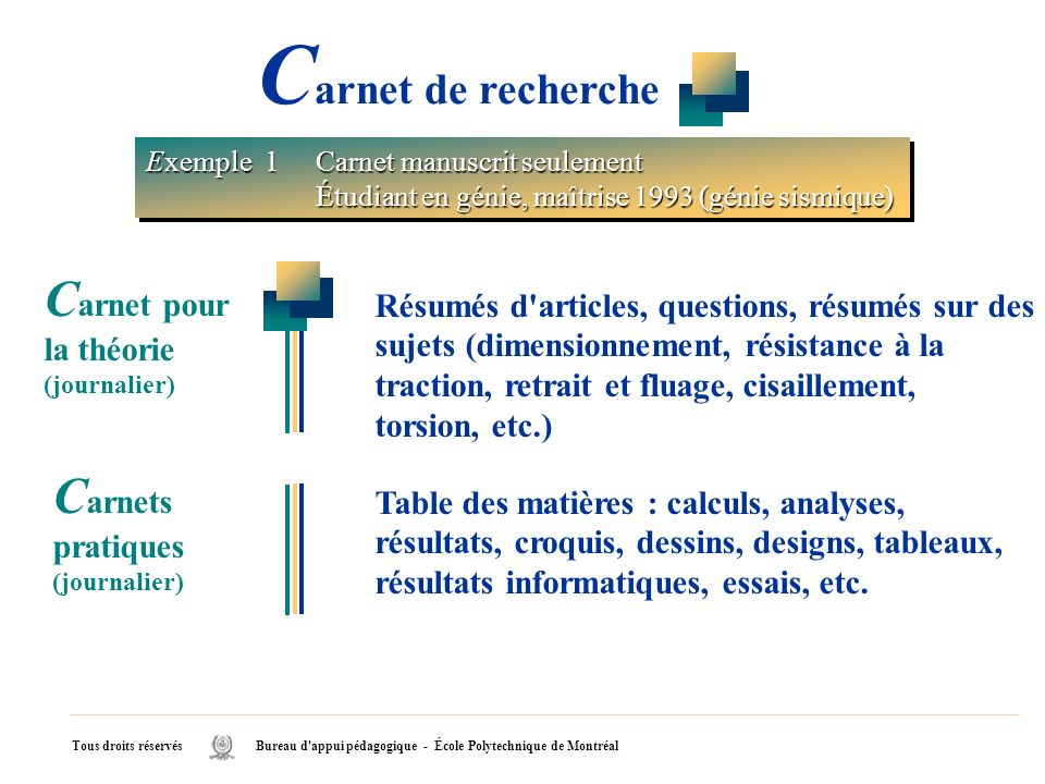 Carnet de recherche Carnet pour la théorie (journalier)