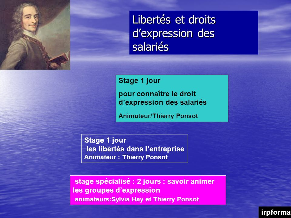 Libertés et droits d'expression des salariés