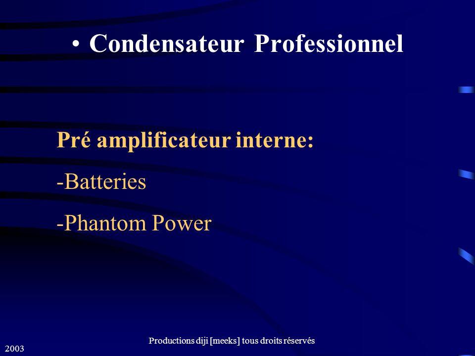 Condensateur Professionnel