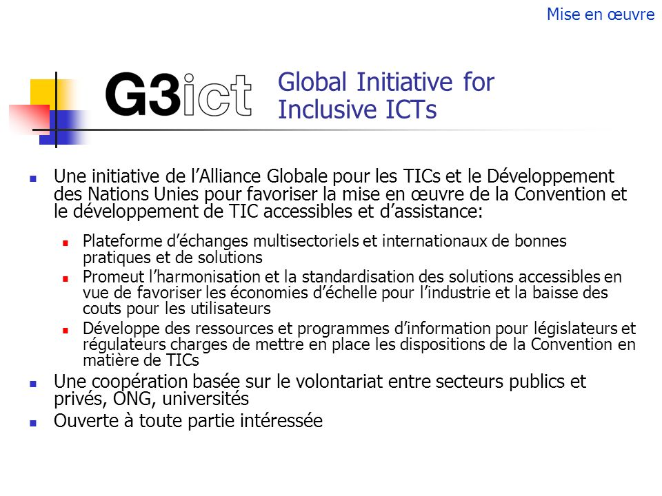 Global Initiative for Inclusive ICTs