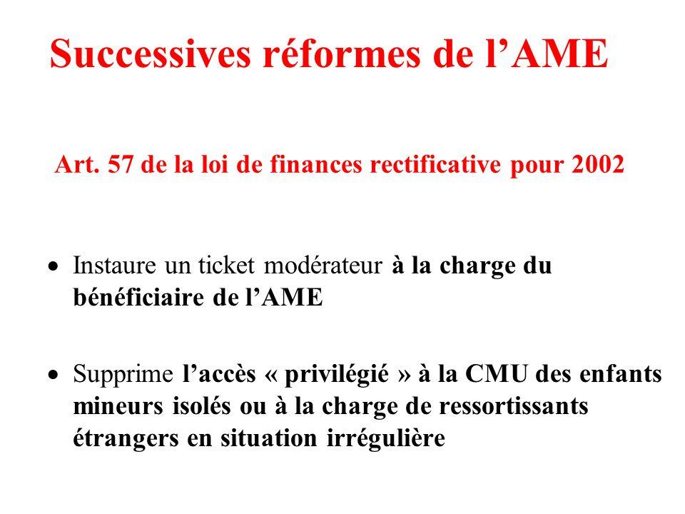 Art. 57 de la loi de finances rectificative pour 2002
