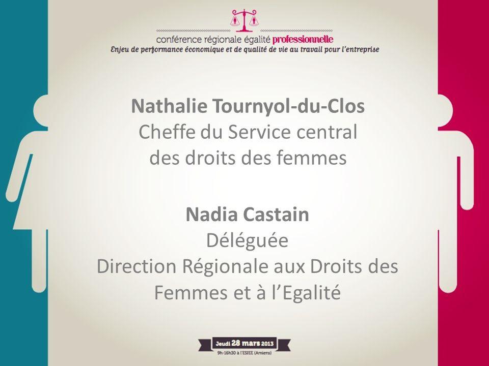 Nathalie Tournyol-du-Clos Cheffe du Service central des droits des femmes