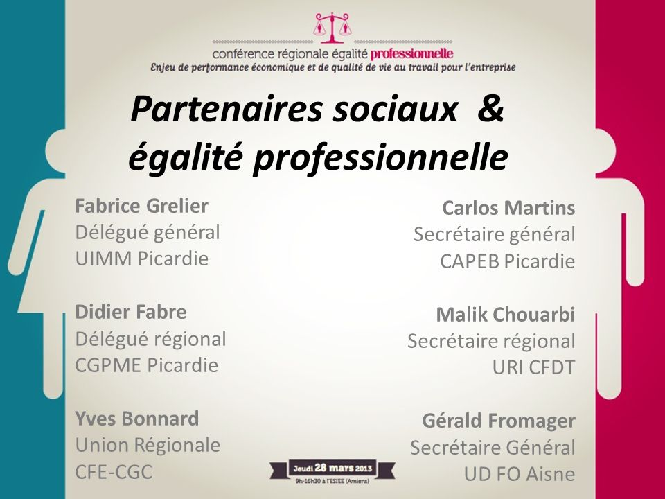 Partenaires sociaux & égalité professionnelle