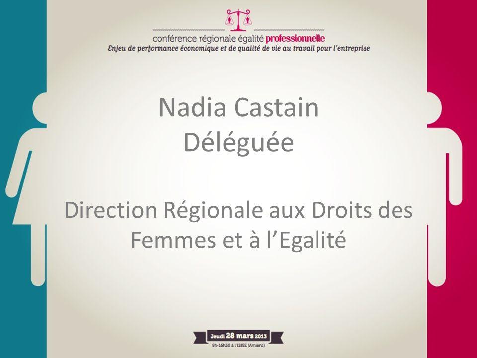 Nadia Castain Déléguée Direction Régionale aux Droits des Femmes et à l'Egalité