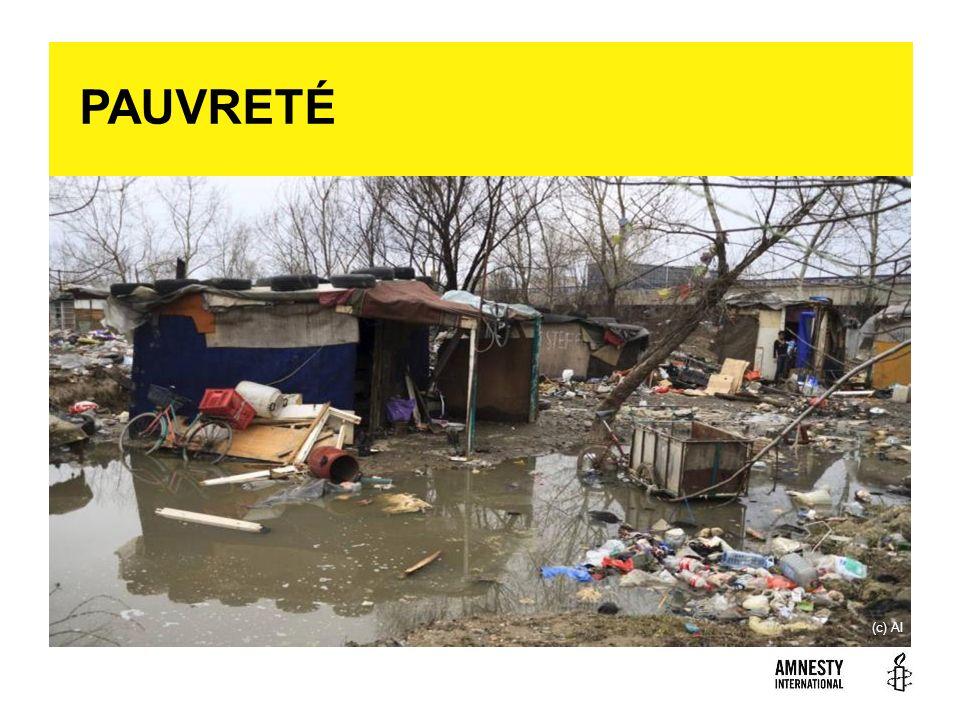 PAUVRETÉ La pauvreté est souvent la cause et la conséquence de nombreuses violations des droits fondamentaux.