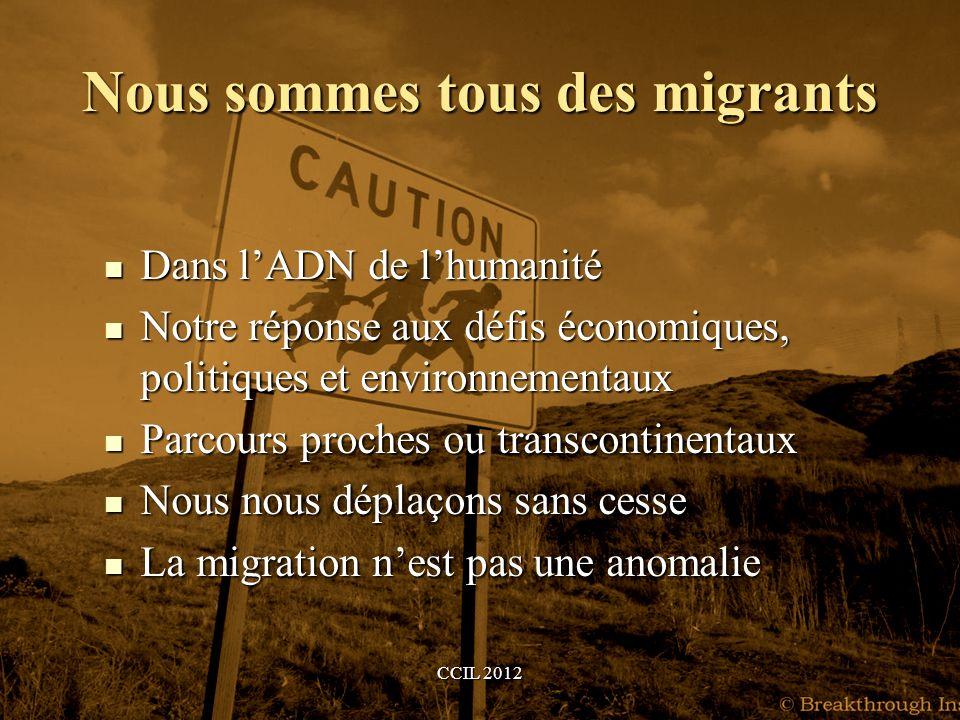 Nous sommes tous des migrants