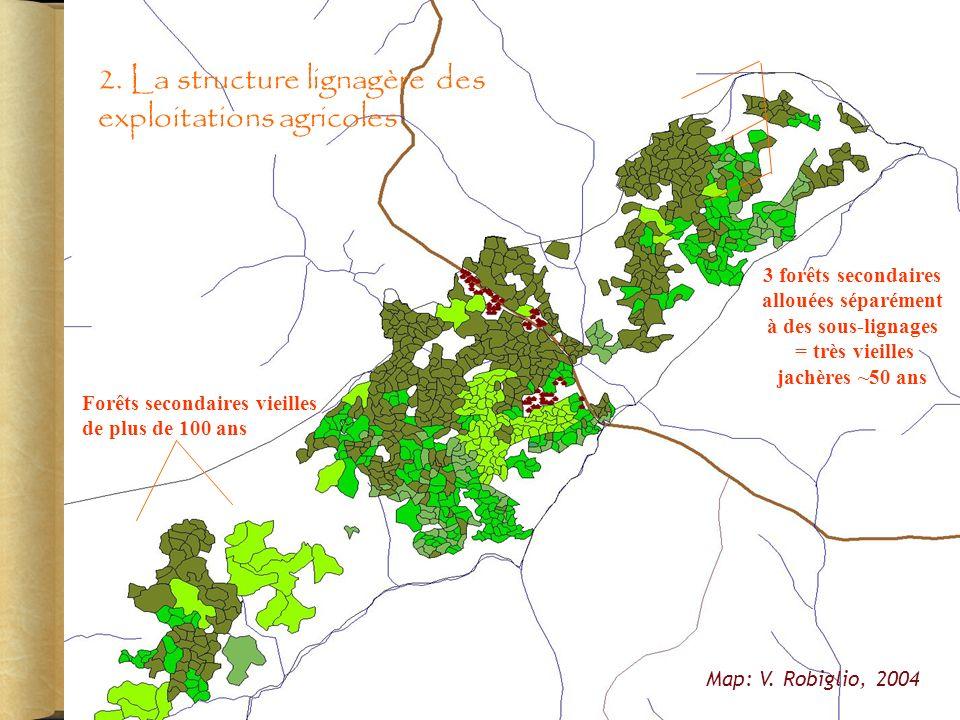 2. La structure lignagère des exploitations agricoles