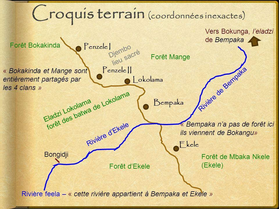Croquis terrain (coordonnées inexactes)