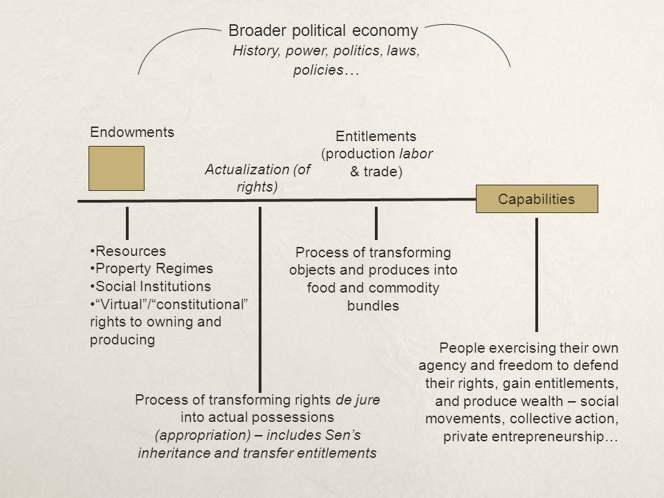 Broader political economy