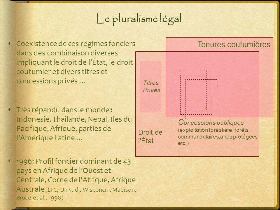 Le pluralisme légal