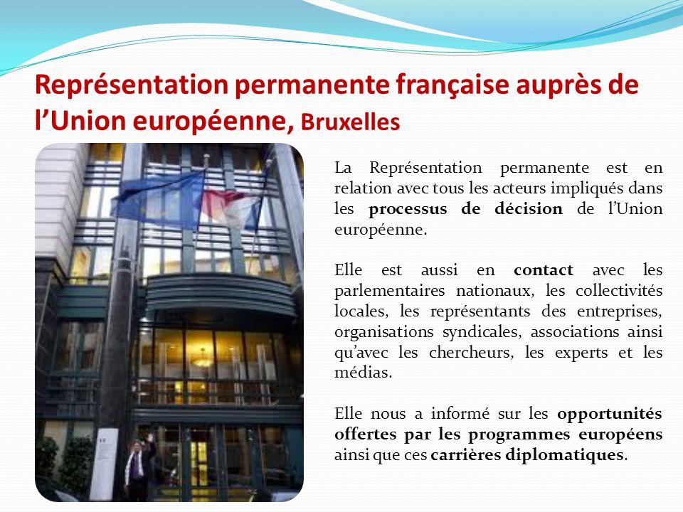 Représentation permanente française auprès de l'Union européenne, Bruxelles