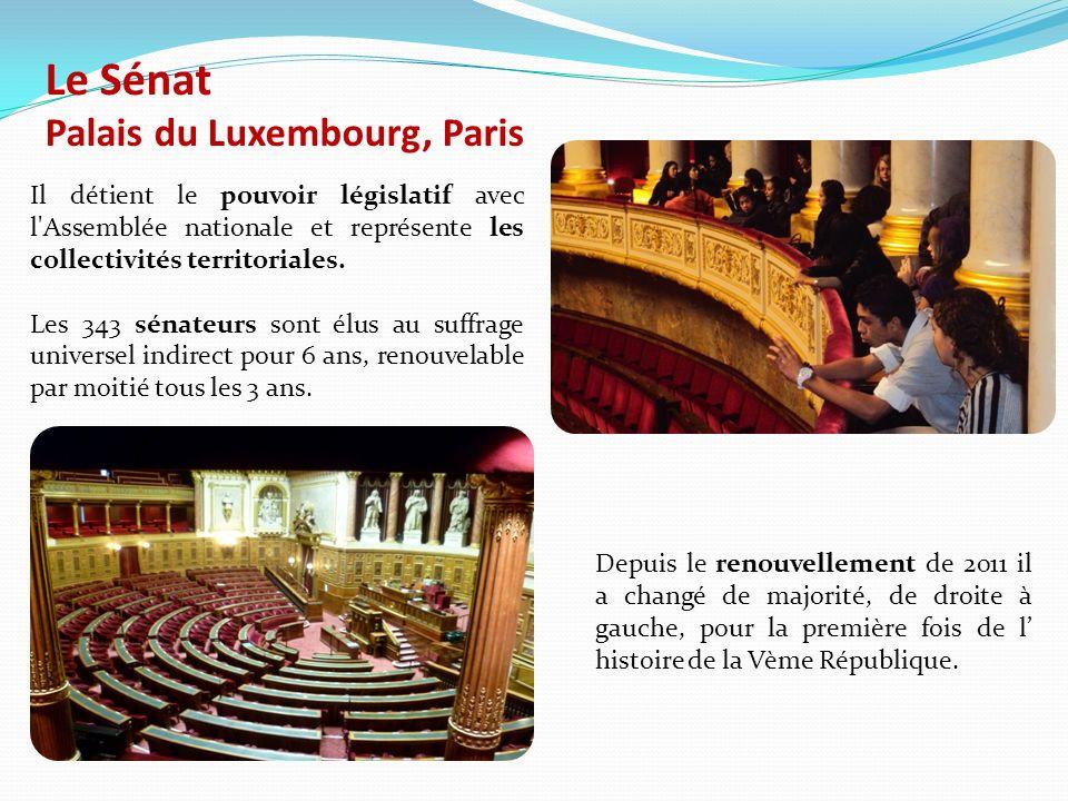 Le Sénat Palais du Luxembourg, Paris