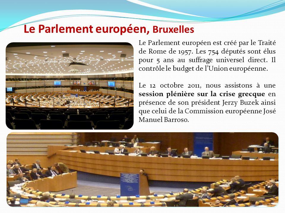 Le Parlement européen, Bruxelles