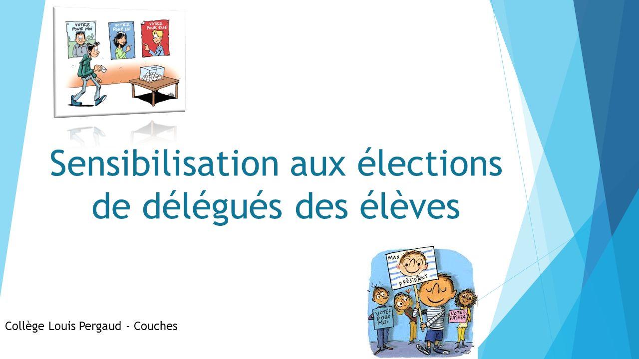 Sensibilisation aux élections de délégués des élèves