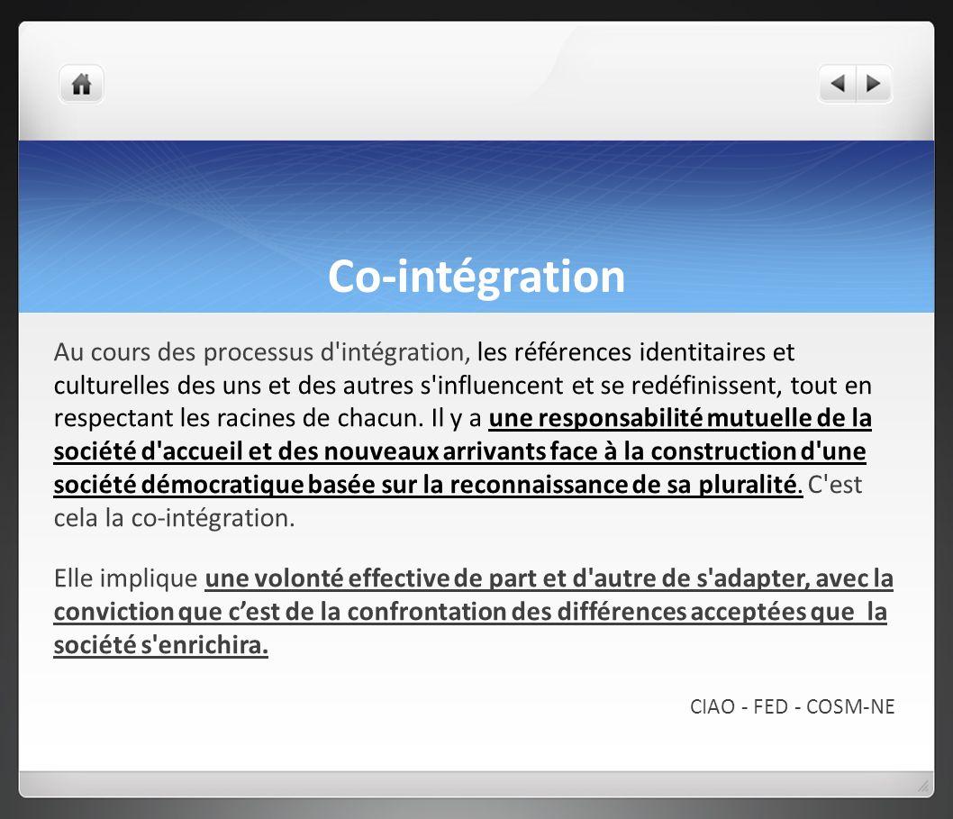 Co-intégration