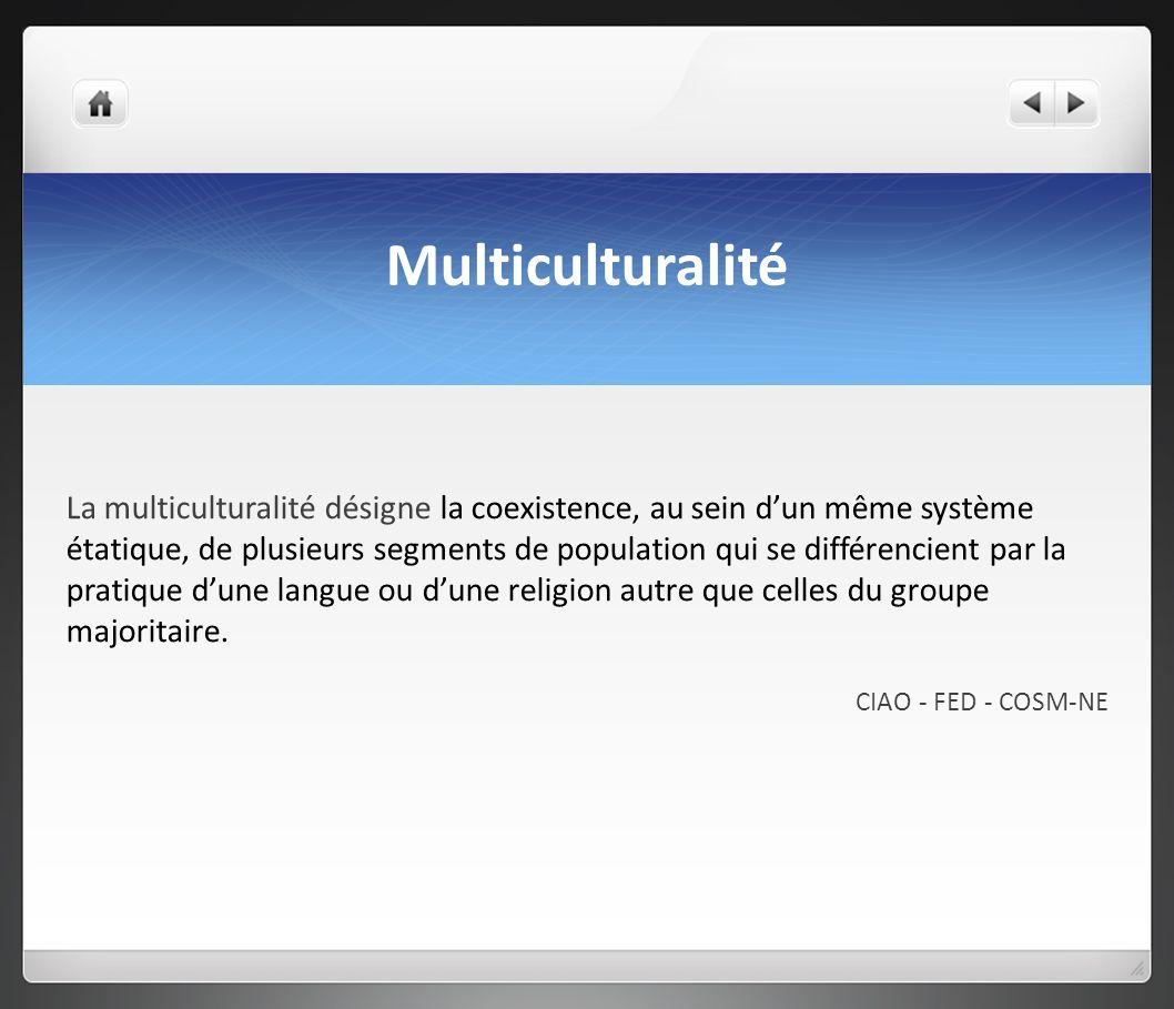 Multiculturalité