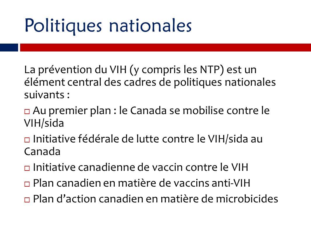 Politiques nationales