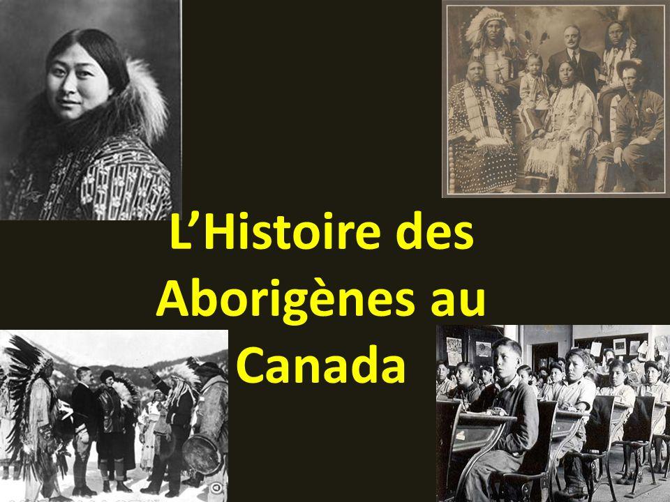 L'Histoire des Aborigènes au Canada